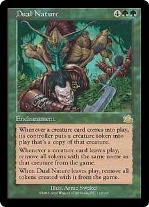 MtG Prophecy Rare Dual Nature #112 [Played Condition]
