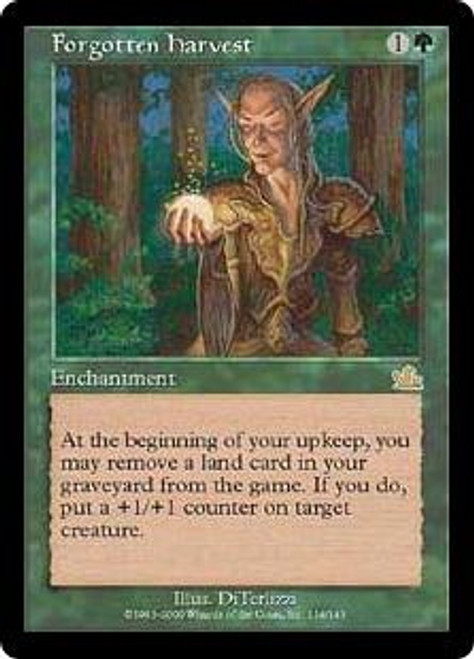 MtG Prophecy Rare Forgotten Harvest #114 [Played Condition]