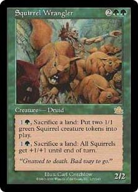 MtG Prophecy Rare Squirrel Wrangler #127