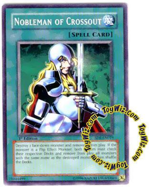 YuGiOh Structure Deck: Spellcaster's Judgment Common Nobleman of Crossout SD6-EN019