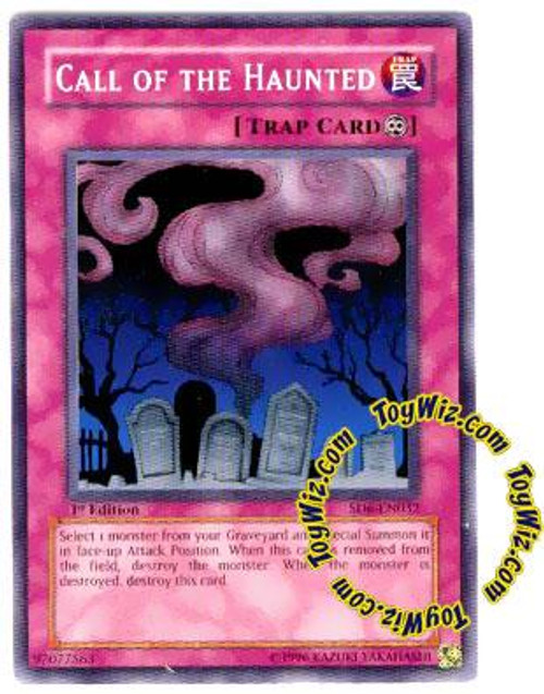 YuGiOh Structure Deck: Spellcaster's Judgment Common Call of the Haunted SD6-EN032