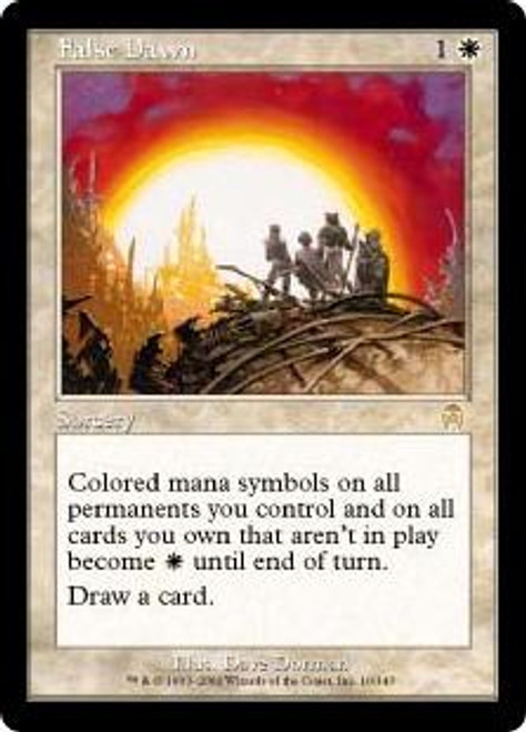 MtG Apocalypse Rare False Dawn #10