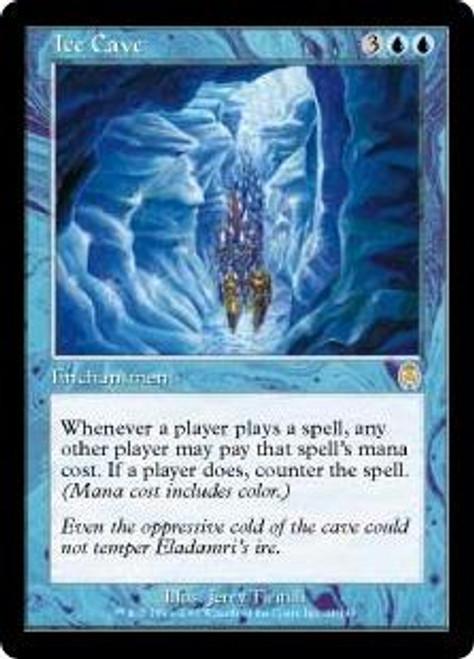 MtG Apocalypse Rare Ice Cave #24
