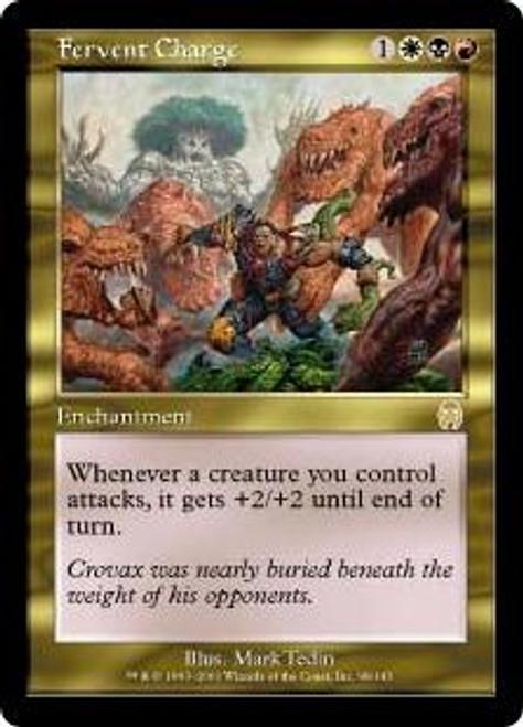 MtG Apocalypse Rare Fervent Charge #98