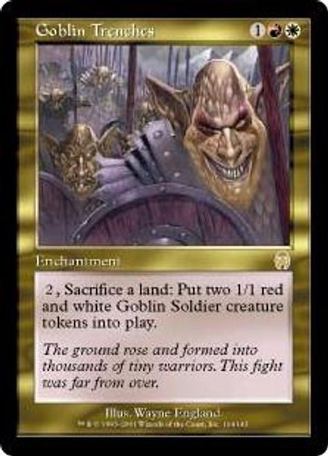 MtG Apocalypse Rare Goblin Trenches #104