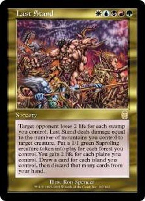 MtG Apocalypse Rare Last Stand #107