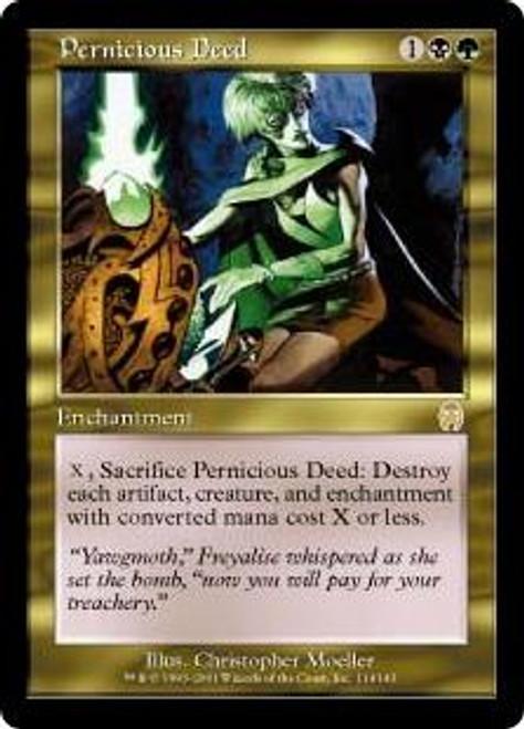 MtG Apocalypse Rare Pernicious Deed #114