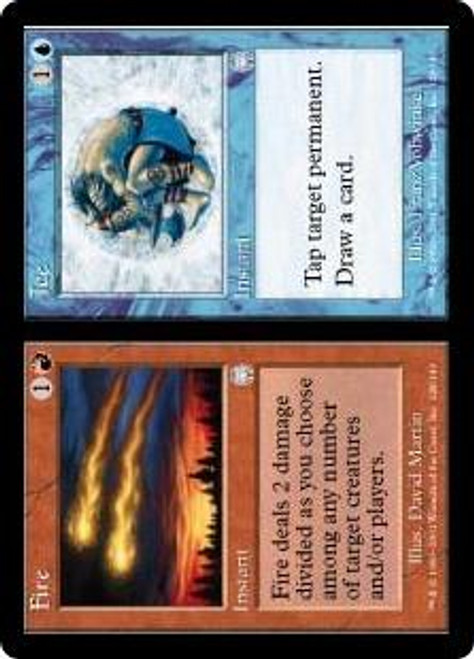 MtG Apocalypse Uncommon Fire // Ice #128