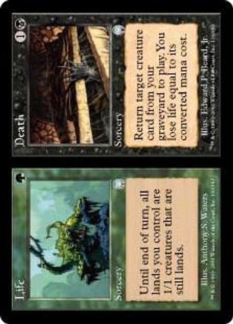 MtG Apocalypse Uncommon Life // Death #130