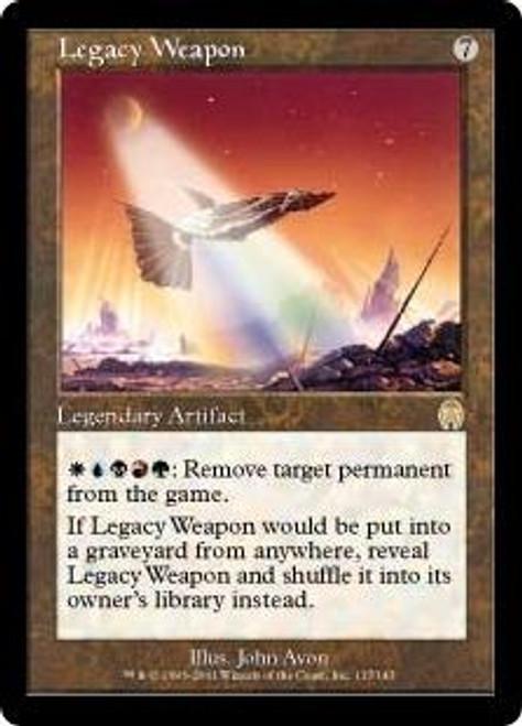 MtG Apocalypse Rare Legacy Weapon #137