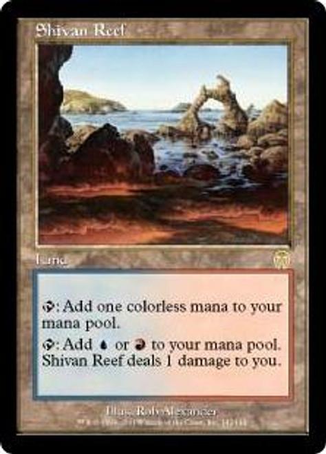 MtG Apocalypse Rare Shivan Reef #142 [Mildly Played]