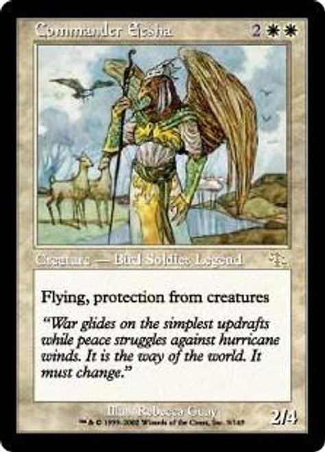 MtG Judgment Rare Commander Eesha #9 [Played Condition]