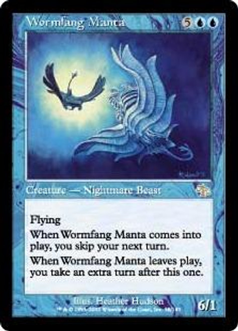 MtG Judgment Rare Wormfang Manta #58