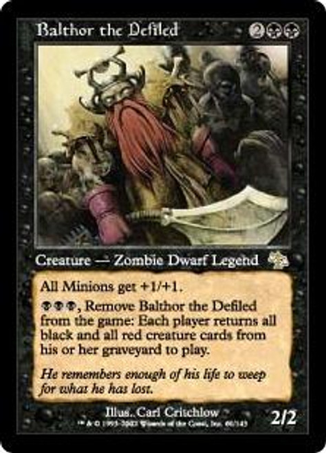 MtG Judgment Rare Balthor the Defiled #61
