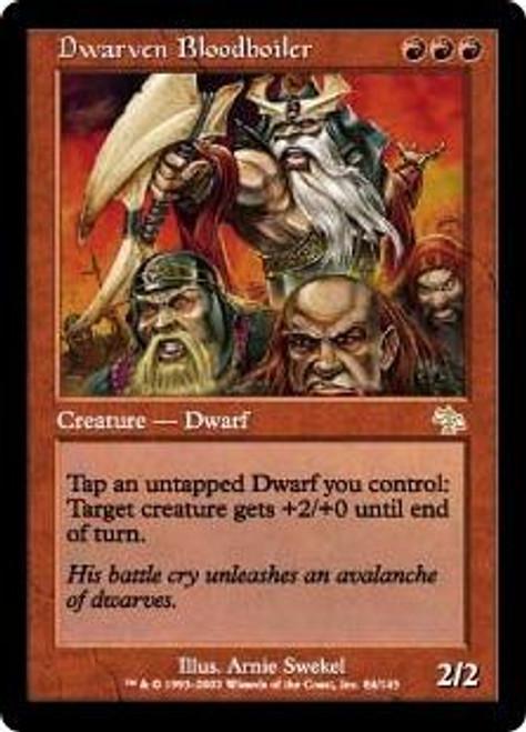 MtG Judgment Rare Dwarven Bloodboiler #84