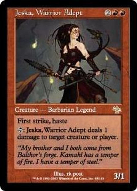 MtG Judgment Rare Jeska, Warrior Adept #93
