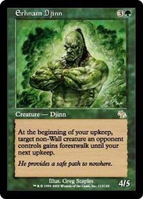 MtG Judgment Rare Erhnam Djinn #113