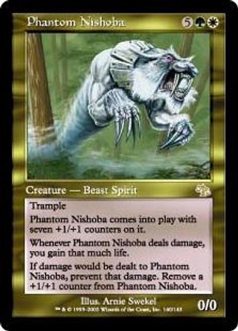 MtG Judgment Rare Phantom Nishoba #140