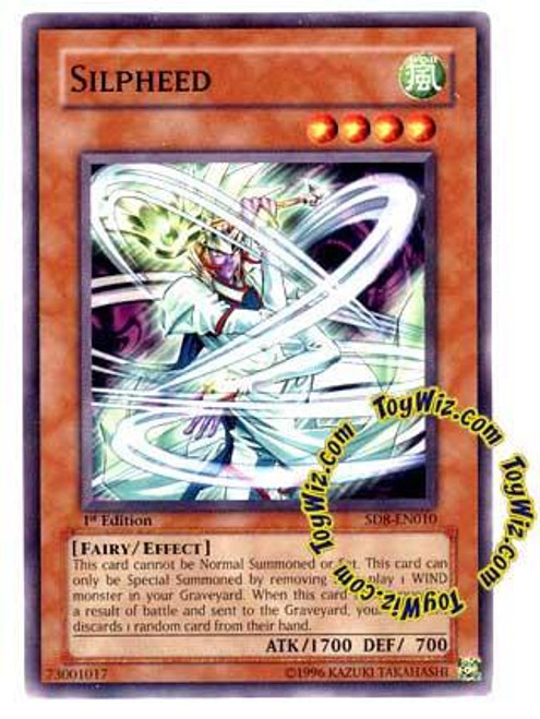 YuGiOh GX Structure Deck: Lord of the Storm Common Silpheed SD8-EN010