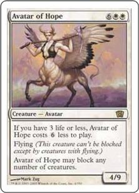 MtG 8th Edition Rare Avatar of Hope #4