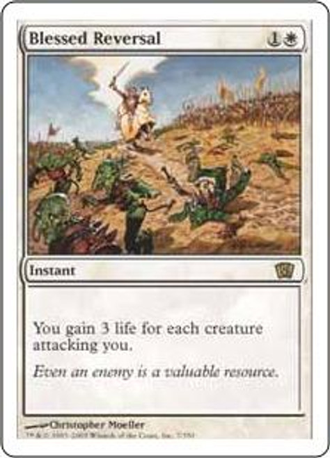 MtG 8th Edition Rare Blessed Reversal #7