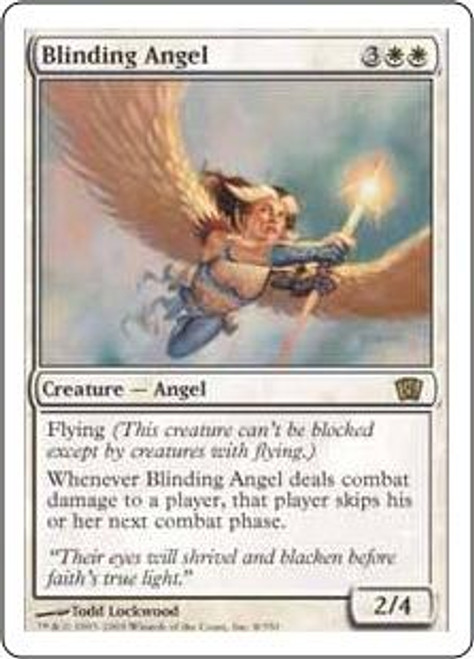 MtG 8th Edition Rare Blinding Angel #8