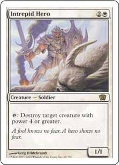 MtG 8th Edition Rare Intrepid Hero #26
