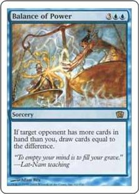 MtG 8th Edition Rare Balance of Power #62
