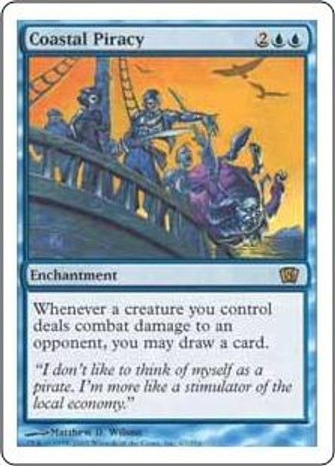 MtG 8th Edition Rare Coastal Piracy #67