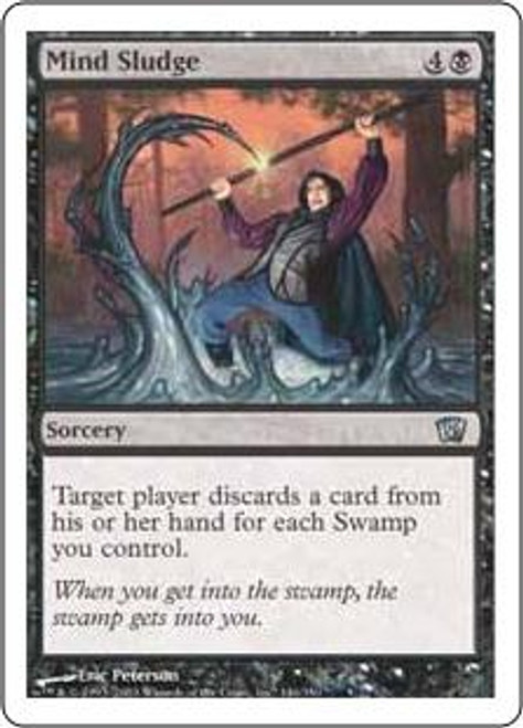 MtG 8th Edition Uncommon Mind Sludge #146