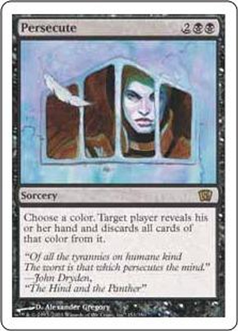 MtG 8th Edition Rare Persecute #151