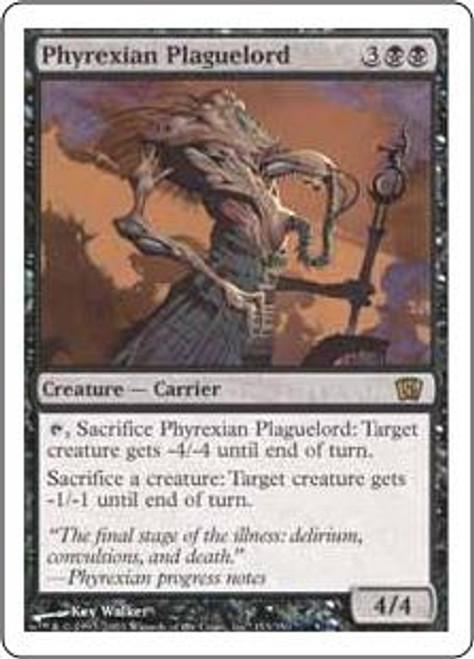 MtG 8th Edition Rare Phyrexian Plaguelord #153