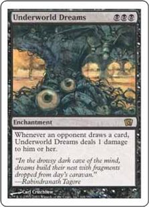 MtG 8th Edition Rare Underworld Dreams #168