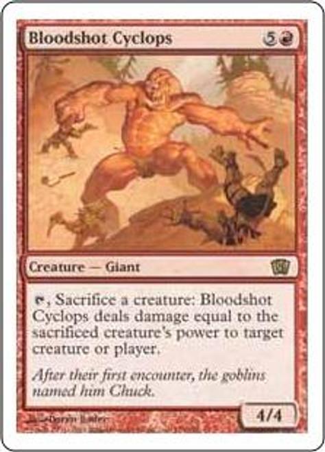 MtG 8th Edition Rare Bloodshot Cyclops #179