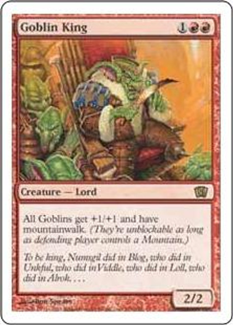 MtG 8th Edition Rare Goblin King #190