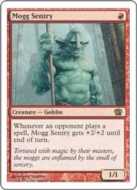 MtG 8th Edition Rare Mogg Sentry #203