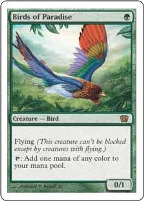 MtG 8th Edition Rare Birds of Paradise #233