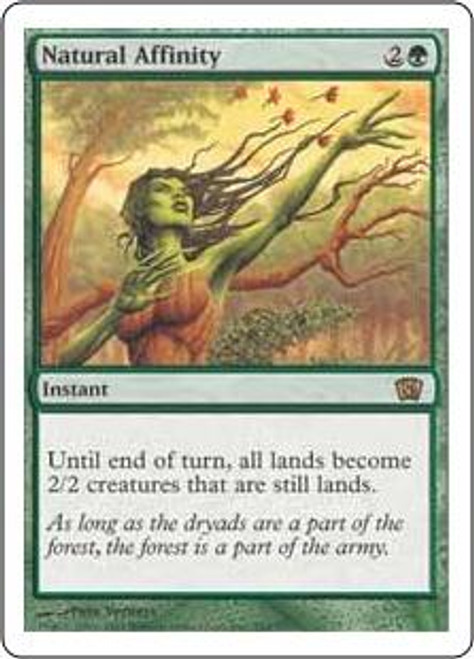 MtG 8th Edition Rare Natural Affinity #269
