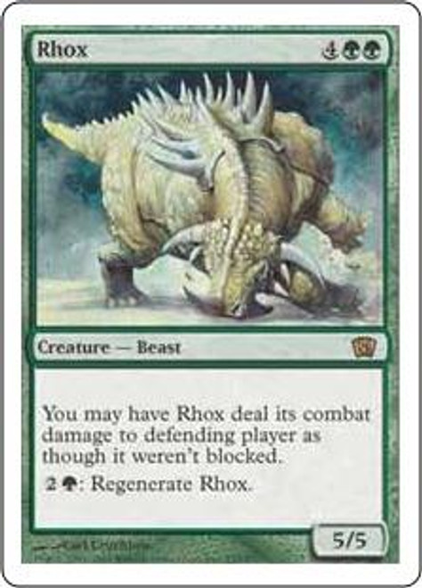 MtG 8th Edition Rare Rhox #277