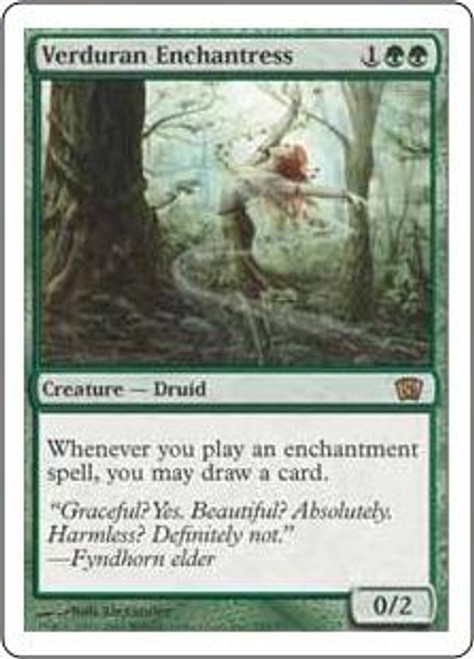 MtG 8th Edition Rare Verduran Enchantress #285