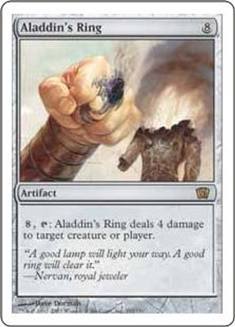 MtG 8th Edition Rare Aladdin's Ring #291