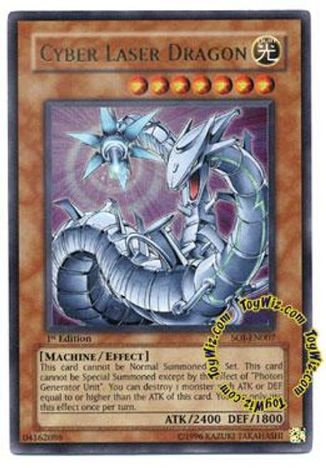 YuGiOh GX Shadow of Infinity Ultra Rare Cyber Laser Dragon SOI-EN007