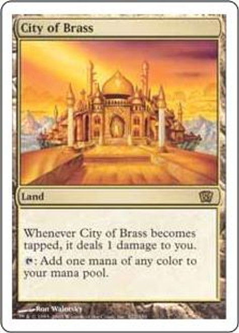 MtG 8th Edition Rare City of Brass #322