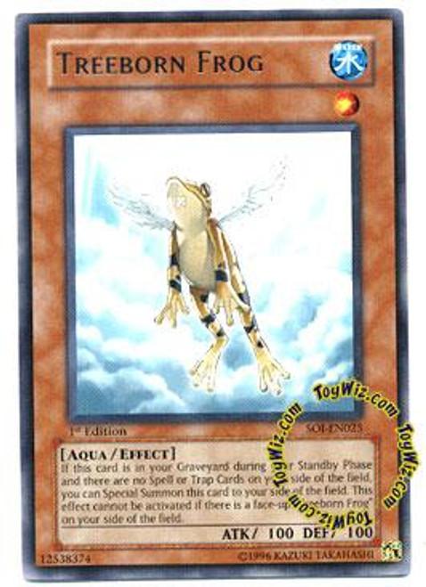 YuGiOh GX Shadow of Infinity Rare Treeborn Frog SOI-EN025