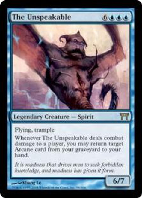 MtG Champions of Kamigawa Rare The Unspeakable #98