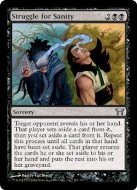 MtG Champions of Kamigawa Uncommon Struggle for Sanity #145