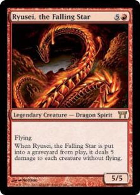 MtG Champions of Kamigawa Rare Ryusei, the Falling Star #185