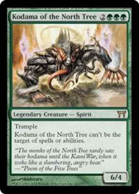 MtG Champions of Kamigawa Rare Kodama of the North Tree #222