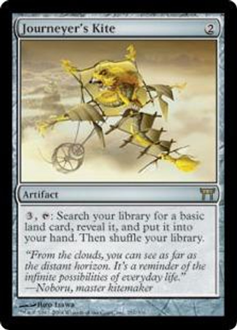 MtG Champions of Kamigawa Rare Journeyer's Kite #257