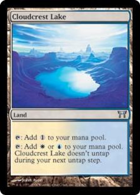 MtG Champions of Kamigawa Uncommon Cloudcrest Lake #274